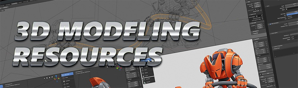 Resources: 3D Modeling