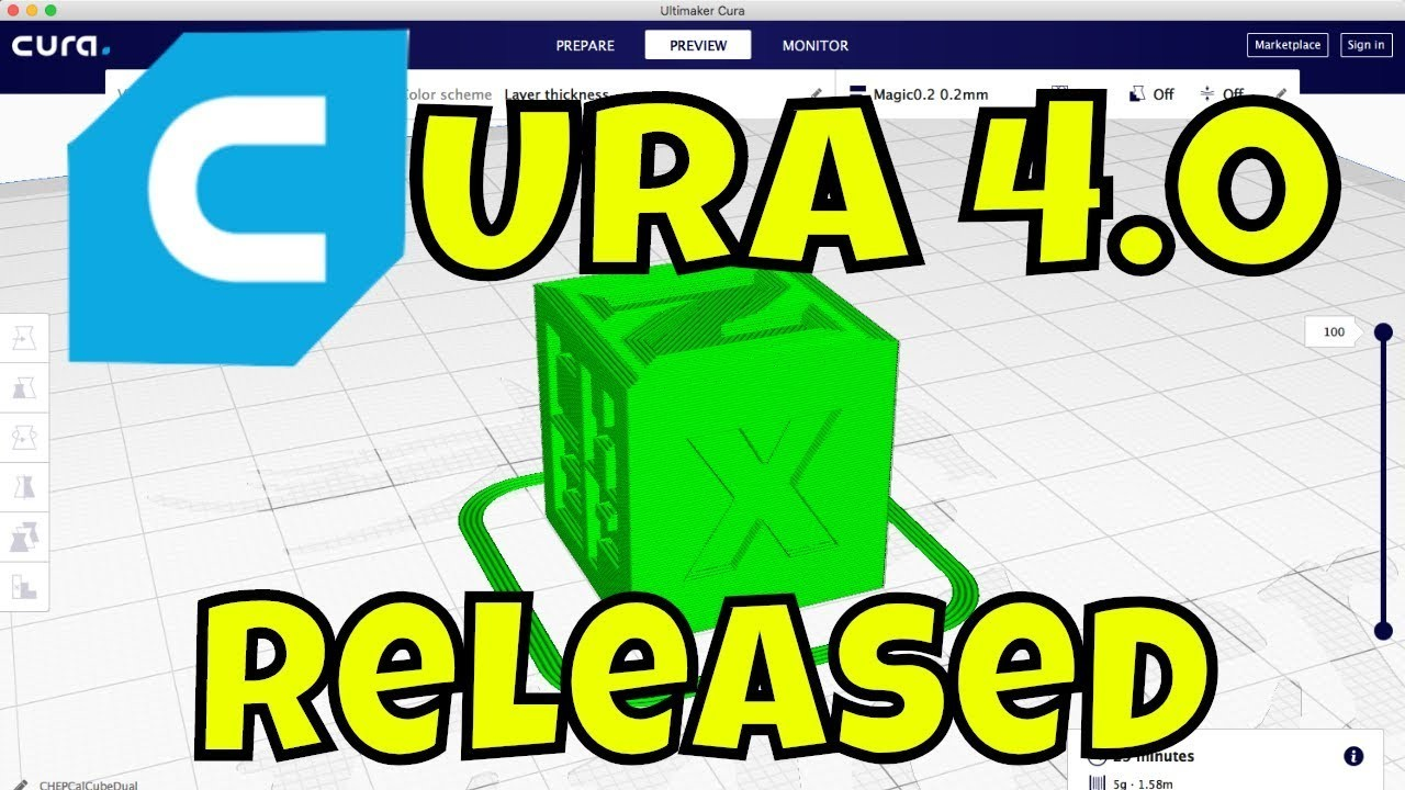 Cura 4.0: A Major Overhaul...