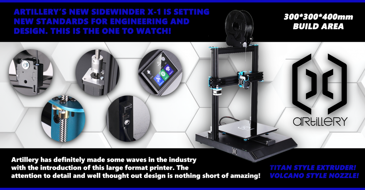 Artillery Sidewinder X1 - This Printer Changes The Game...