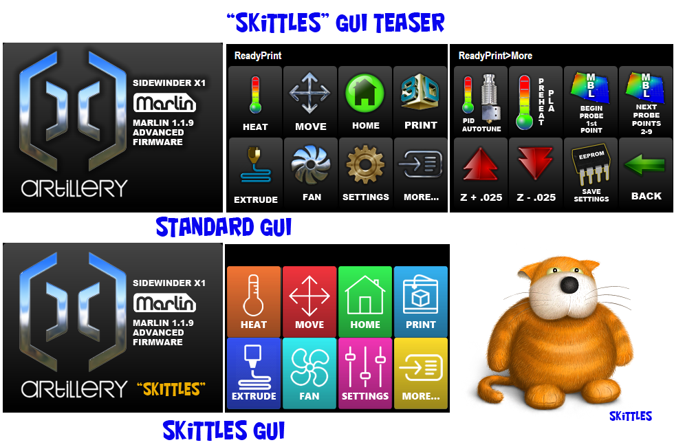 We Introduced You To Skittles Last Night... Another Artillery GUI Option Coming Soon.