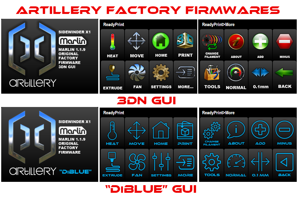 3DN Factory GUI Options (Like Our Advanced Firmwares!) And A Lil' Teaser...